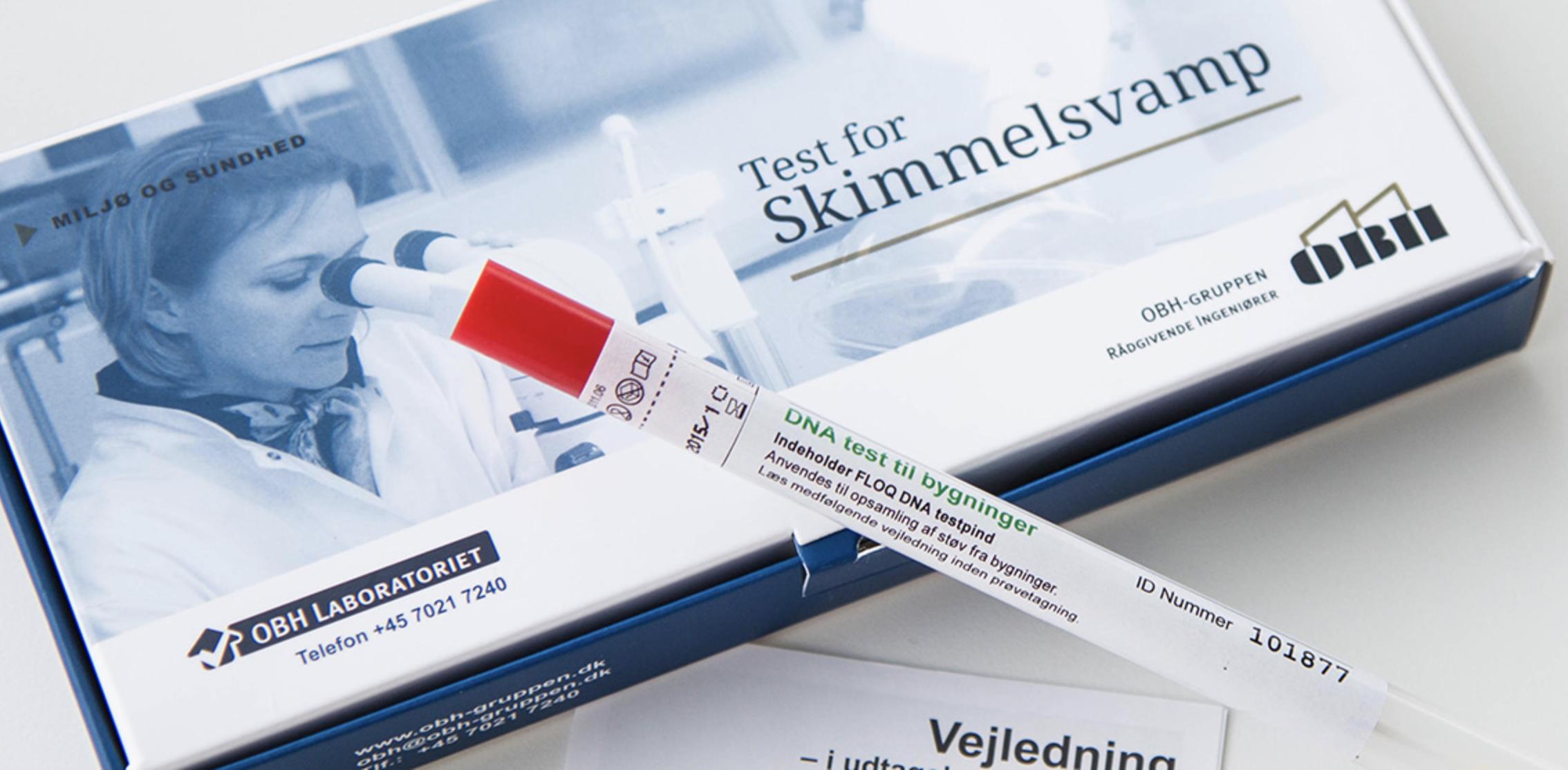Gør-det-selv skimmelsvamp test