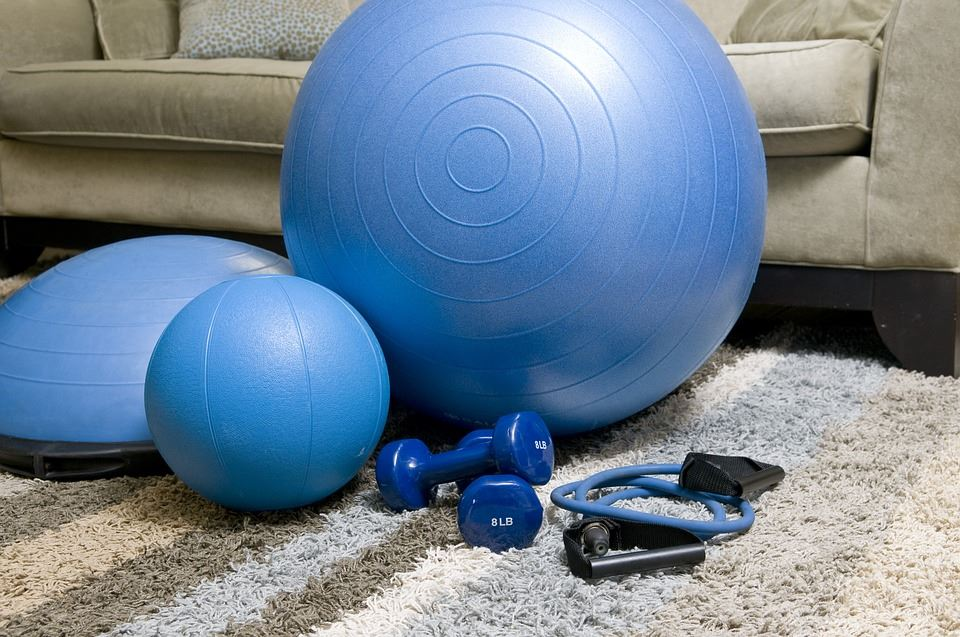 Træning i hjemmet er et hit