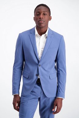 Det lyseblå jakkesæt